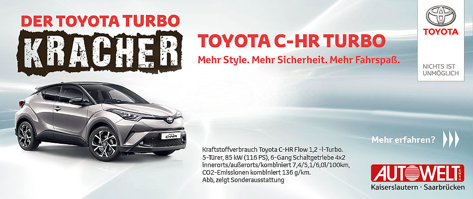 C´HR Turbo-Kracher